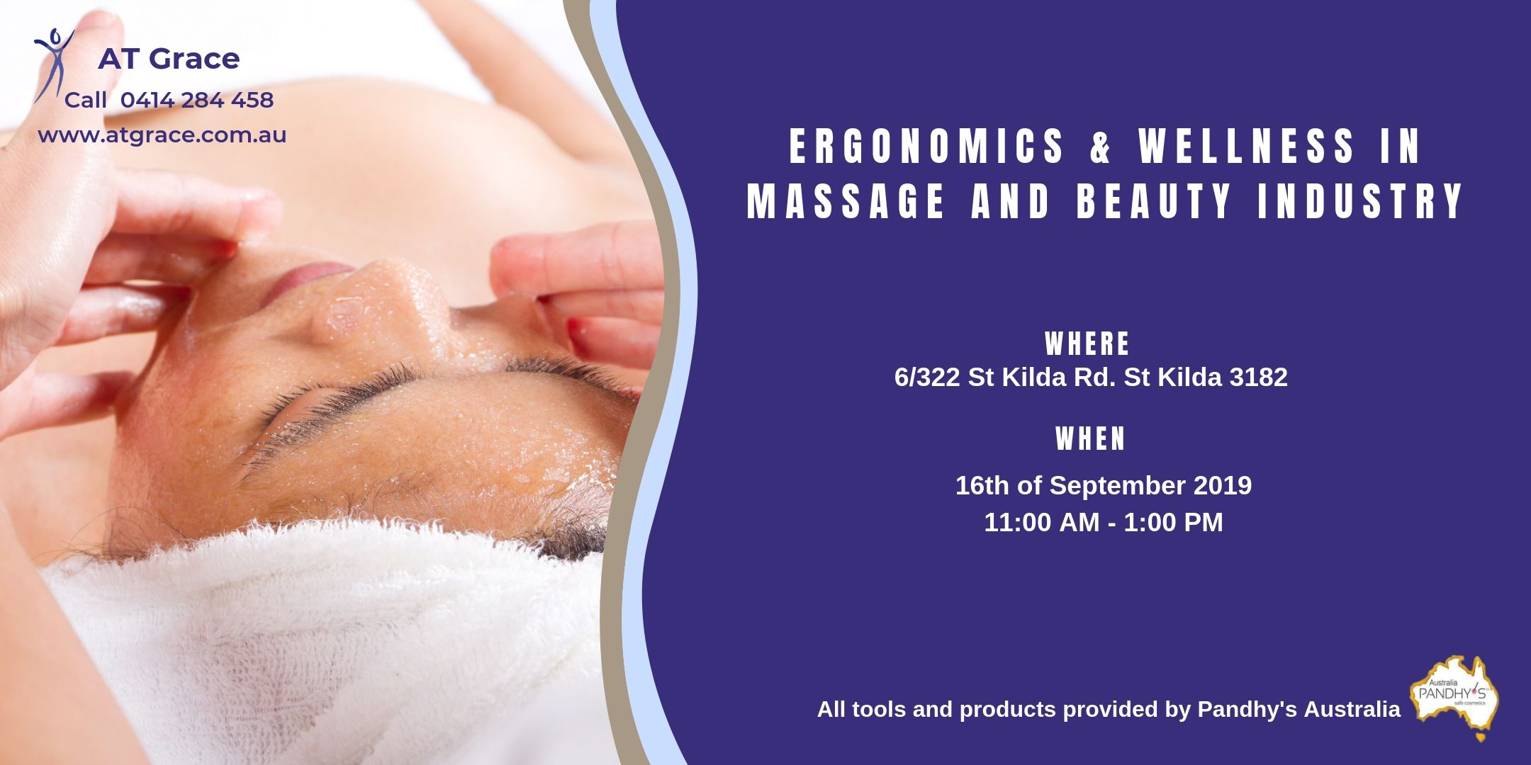 Ergonomics & Wellness in Massage and Beauty industry.