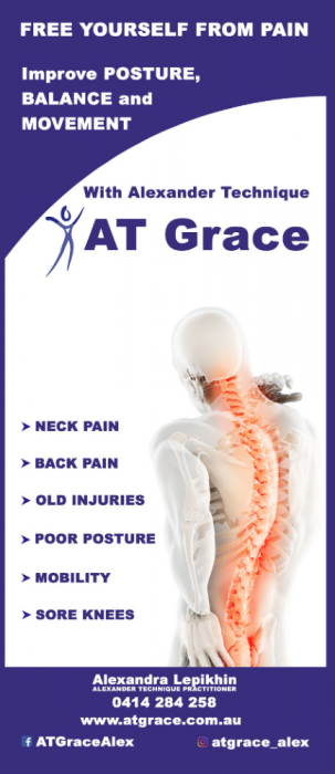 Person experiencing neck pain and back pain